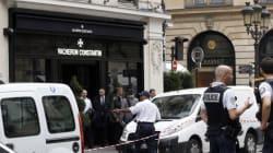 Braquage spectaculaire d'une bijouterie à Paris, deux hommes