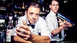 Gastown Bartenders Strip For