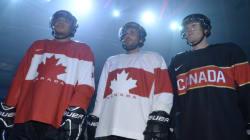 Hockey Canada dévoile ses chandails pour les Jeux de Sotchi