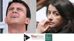 Valls au top, Duflot s'effondre... Les tops et les flops du mois