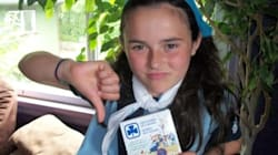 Girl Guide Has Problem With