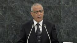 Libye: le premier ministre Ali Zeidan a été