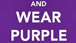 Social Media Lights Up In Purple For Bullied