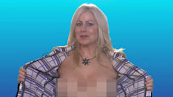 WATCH: Topless Reporter Is Back.. With A Special