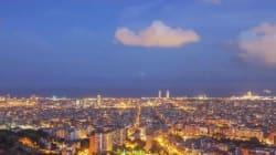 Barcelone filmée sous toutes les