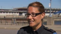 Des policiers du Service de police de la Ville de Montréal s'envolent pour