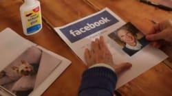 Se Facebook fosse di carta? Un'anziana prova ad ricrearlo