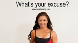 Maria Kang Should Learn the Difference Between Excuses and