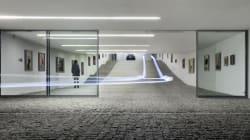 Une galerie d'art... et l'entrée d'un