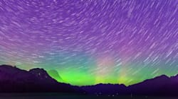 LOOK: Aurora Borealis Lights Up Rural