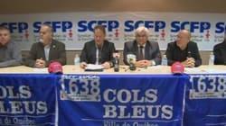 Les cols bleus de Québec votent sur l'entente de principe