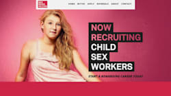 Posters Recruiting Child Sex Workers Met With