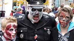Marche des zombies: les rues de Montréal envahies