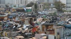Le plus grand campement de Roms à Marseille