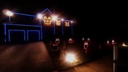 WATCH: Most Epic Halloween Light Shows