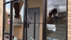 Vandalisme au bureau de Denis
