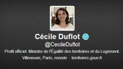 Cécile Duflot défend son community manager face à celui des sénateurs