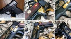 Des armes à feu en vente sur
