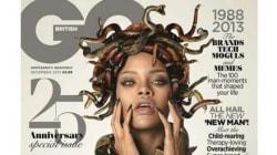 Rihanna Gets Spooky For