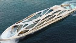 Il super yacht di Zaha Hadid