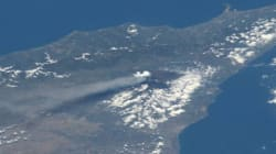 Etna erupting today!