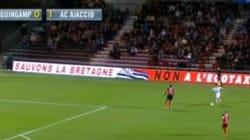 L'écotaxe s'invite lors de... Guingamp-Ajaccio en Ligue