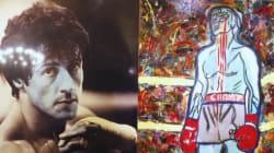 Stallone expose ses tableaux au Musée