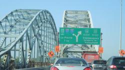 Fermeture du Pont Honoré-Mercier vers Montréal ce