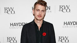 Hayden Christensen Goes Chic In