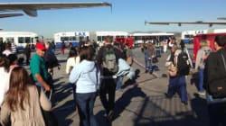 Sparatoria all'aeroporto di Los