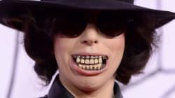 LOOK: Lady Gaga Sports Scary