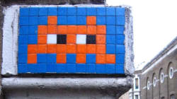 L'artiste français Space Invader