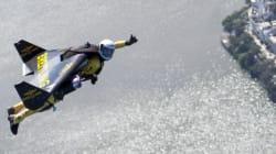 Jetman réalise un nouvel