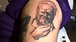 Rob Ford Crack Tattoo. For