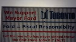 Rob Ford Billboard Has Brutal