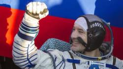 L'astronauta Parmitano torna sulla terra (VIDEO,