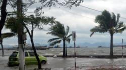 Affaibli, Haiyan épargne le