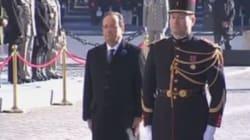 Des sifflets et des huées pour François Hollande lors des