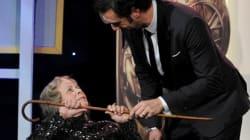 Sacha Baron Cohen «tue» une vieille dame