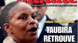 Une de Minute sur Taubira : SOS Racisme et la Licra portent