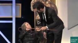 Sacha Baron Cohen sconvolge la platea alla sua