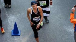 Pamela Anderson revient sur son marathon de New York