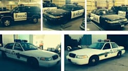 U.S. Cop Cars In Canadian