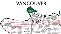 LOOK: Vancouver Mapped In