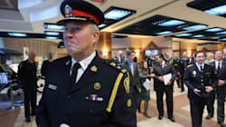 Outgoing Toronto Police Chief Leaves Complex
