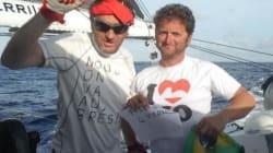 Les skippers de la Transat Jacques Vabre soutiennent les