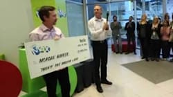 WATCH: Lotto Max Winner's Simple