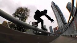 WATCH: Extreme Blading In