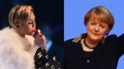 Selon Lily Allen, Angela Merkel est une