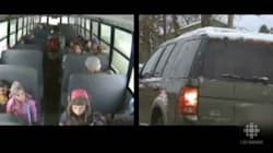 WATCH: School Buses Put Bad Drivers On